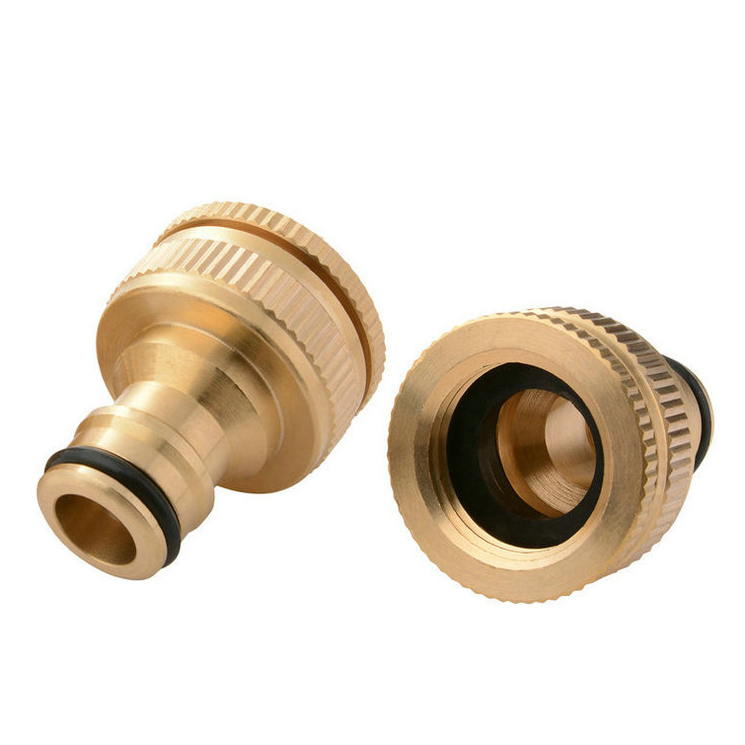 CNC Brass Lathe Turning Machine Mechanical Parts Fabrication