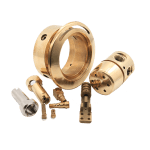 Custom CNC Turned Parts CNC Turning Brass Mechanical Parts