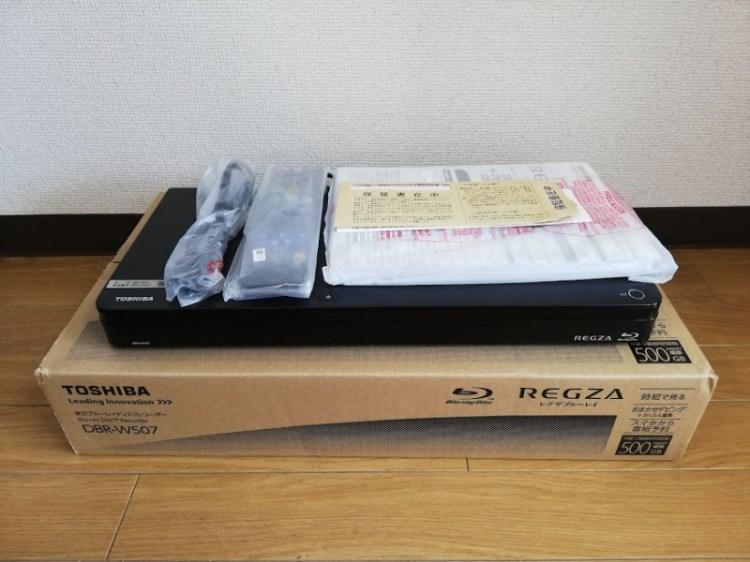 REGZA(レグザ) DBR-W507