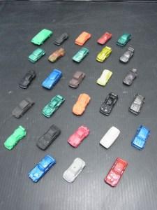 昭和レトロ 当時物 スーパーカー 消しゴム 28台 中古品