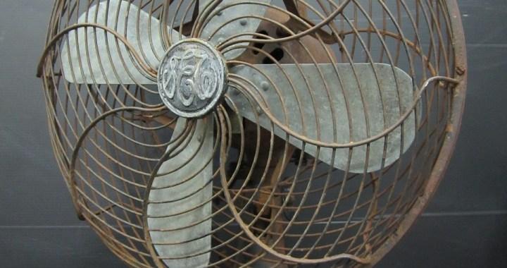 昭和レトロ 芝浦製作所 扇風機 交流電気扇 ジャンク品