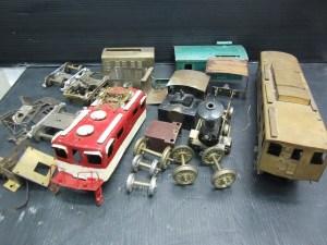 時代物 レトロ 鉄道模型 金属製
