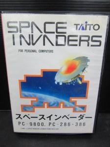 PC-9801 ゲーム 3.5インチ スペースインベーダー 中古品