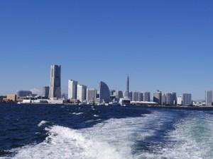 横浜での海洋散骨