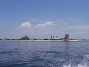 東京ディズニーシー沖で東京湾散骨