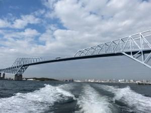 東京ゲートブリッジと海洋散骨
