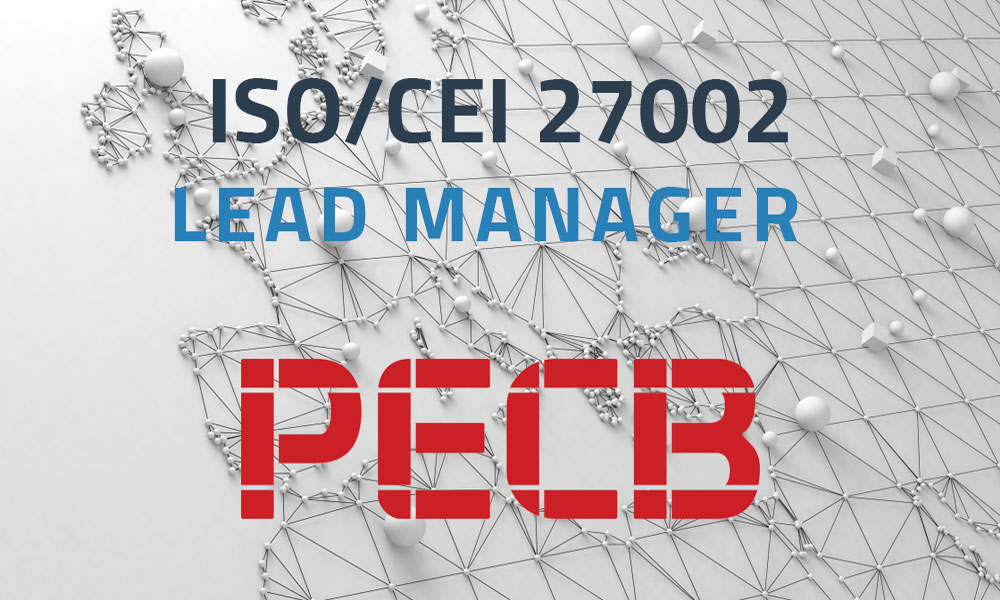 ISO/CEI 27002 Lead Manager