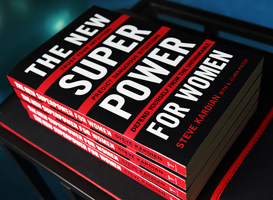 "A Humbling Testimonial: Steve Kardian, author of ""The New Super Power For Women"""