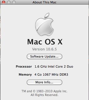 Info MacBook Air