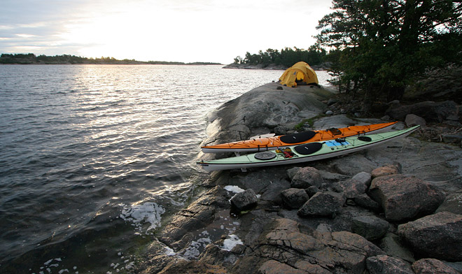 VE25, Clapotis och Ellesmere på Fångö