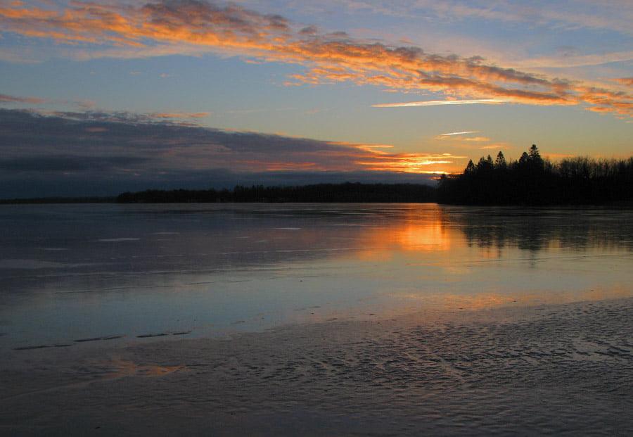 Morgon på Västersjön