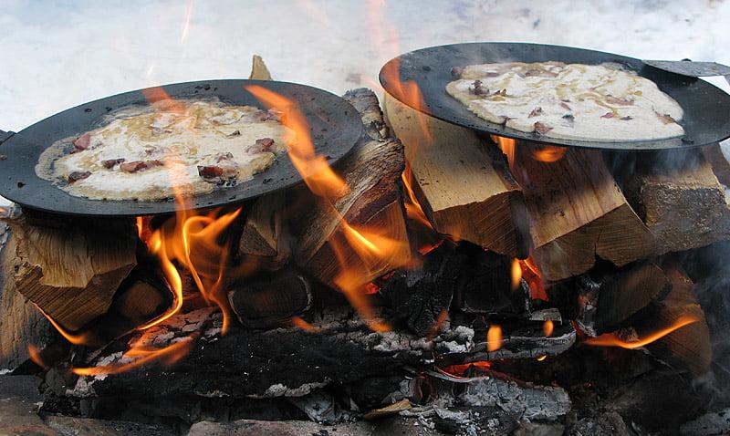 Kolbullar på Muurikka i elden