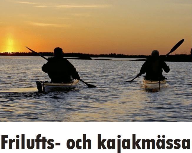 Friluftsliv och kajakmässa i Västerås