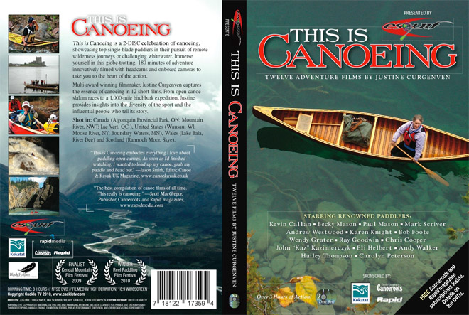 This is Canoeing omslag