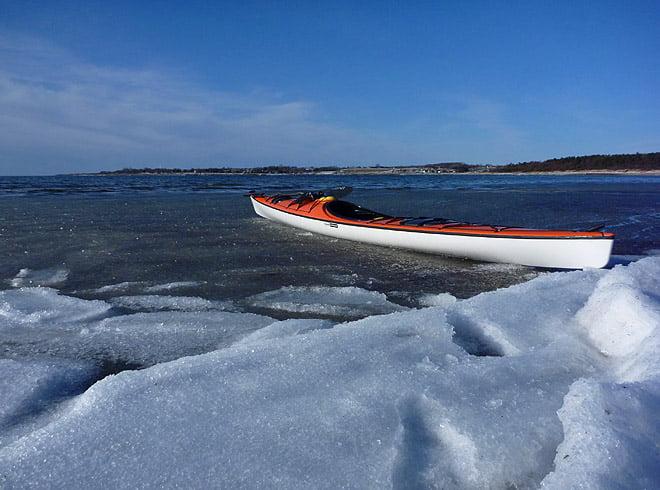 Lite issörja de första 10 metrarna, men annars helt öppet