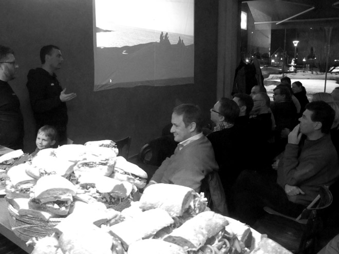 Kajakafton med Mest Ute på Café kaka i Eskilstuna