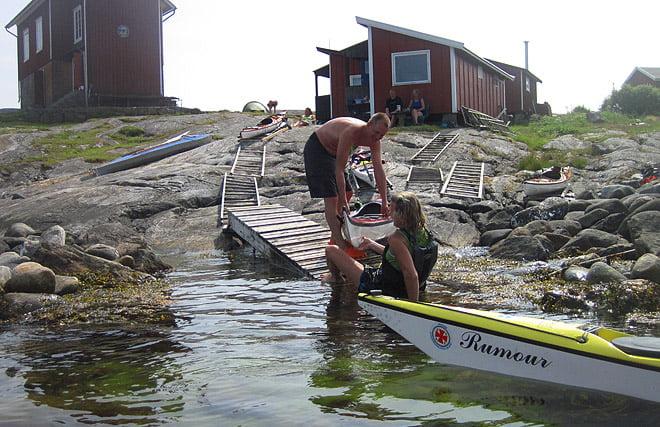 Aase provar att vara levande KayakSaver
