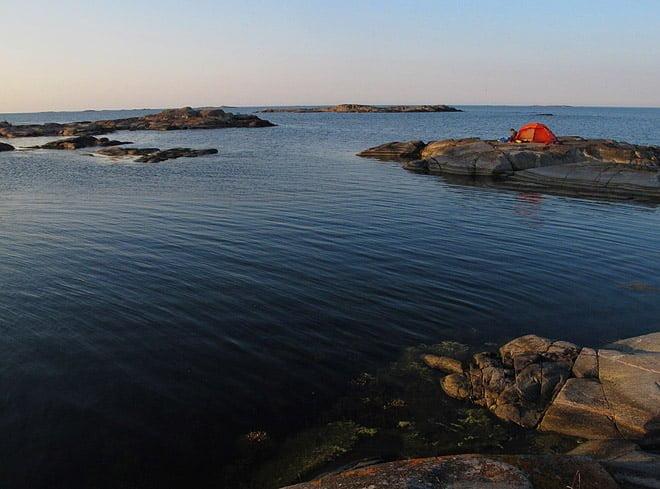 Lätt att hitta fina lägerplatser med fin horisontvy