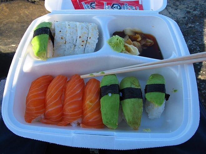 Sushi i skärgården, lyxigt och gottit värre