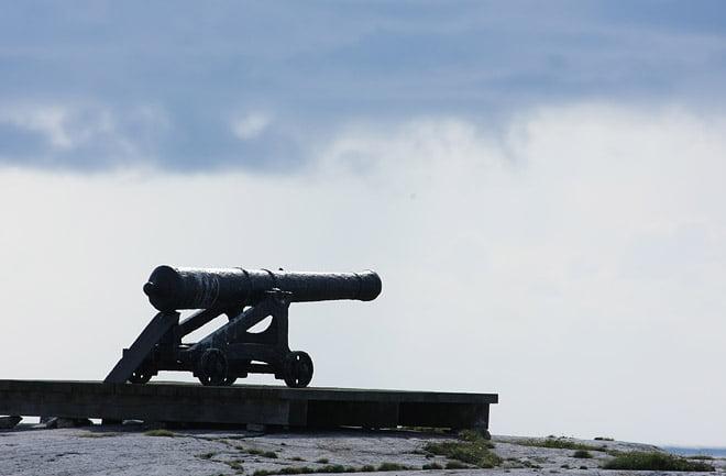 Kanon på Måseskär