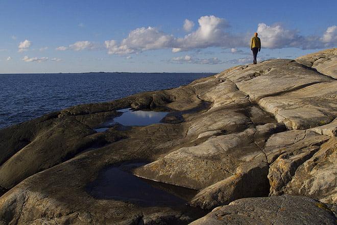 Promenad runt ön