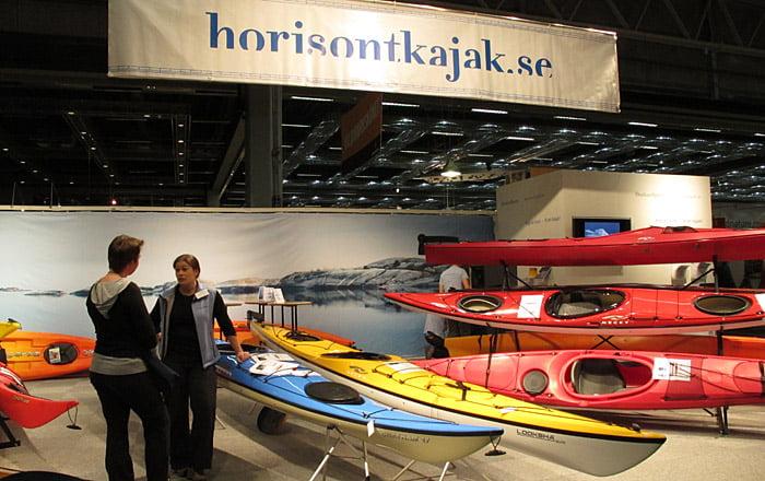 Horisont & Outdoorsports i stor rymlig monter