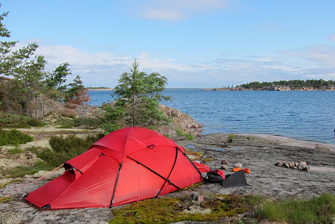 Hilleberg Saivo på Klåvskär