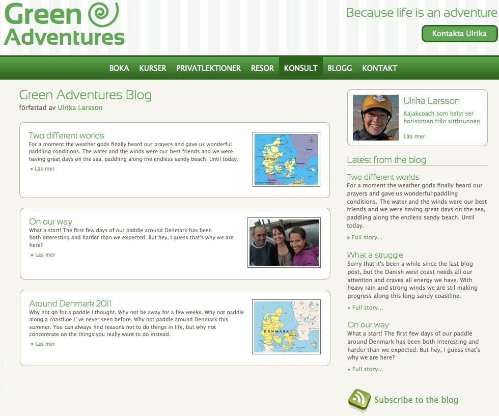 www.greenadventures.se - Ulrika Larsson