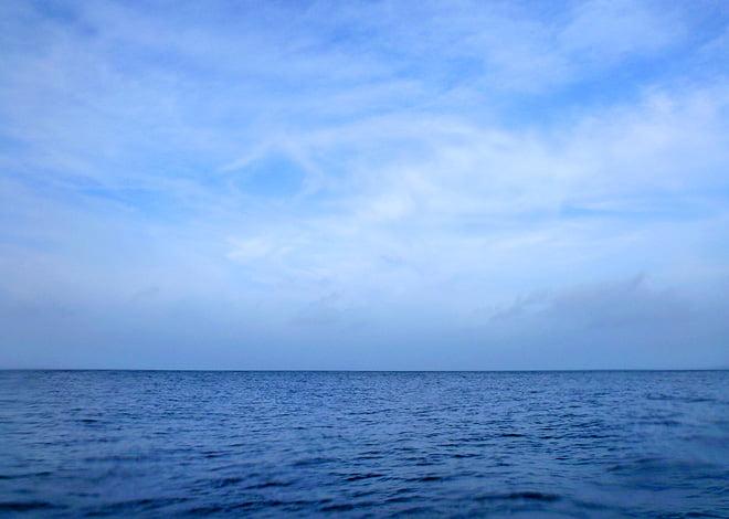Lite blåare himmel på slutet