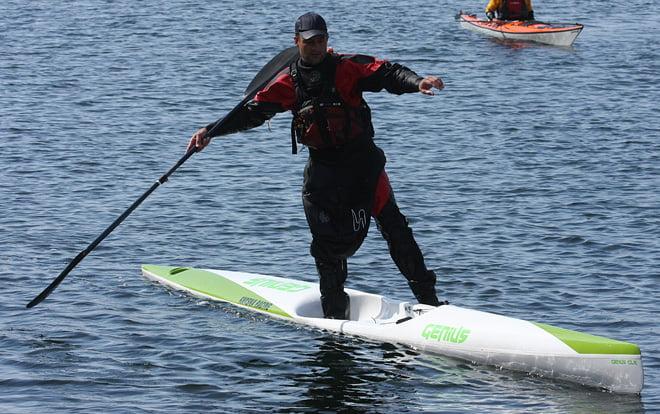 En surfski kan lätt användas som SUP om man har hyfsad balans ;)