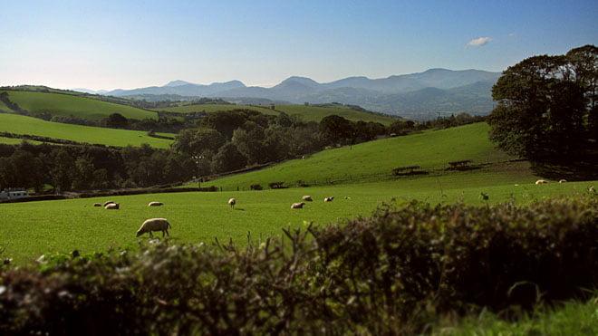 Det är vackert i Snowdonia