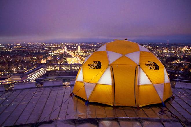 Addnature tältar på Globen. Foto Johan Ekroth