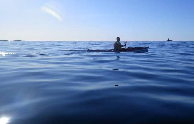 På väg mot Väderöarna