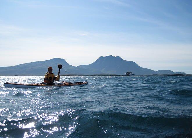 Finväder på Helgelandskusten, sommaren 2009