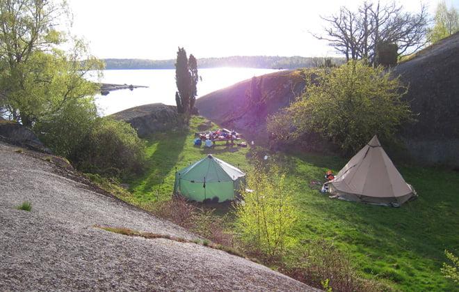 Basecamp med Altai och Kåta