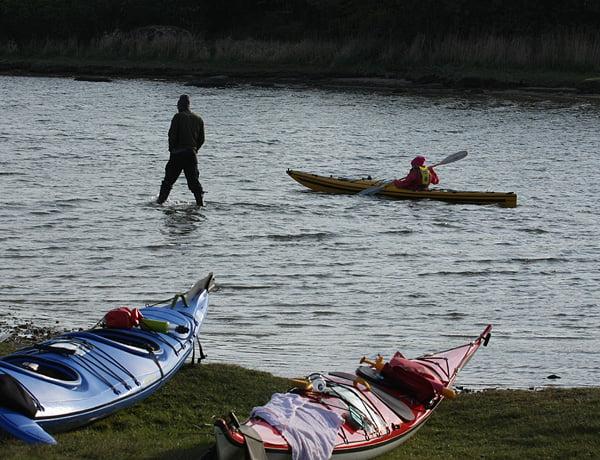 Lite prova-på-paddling