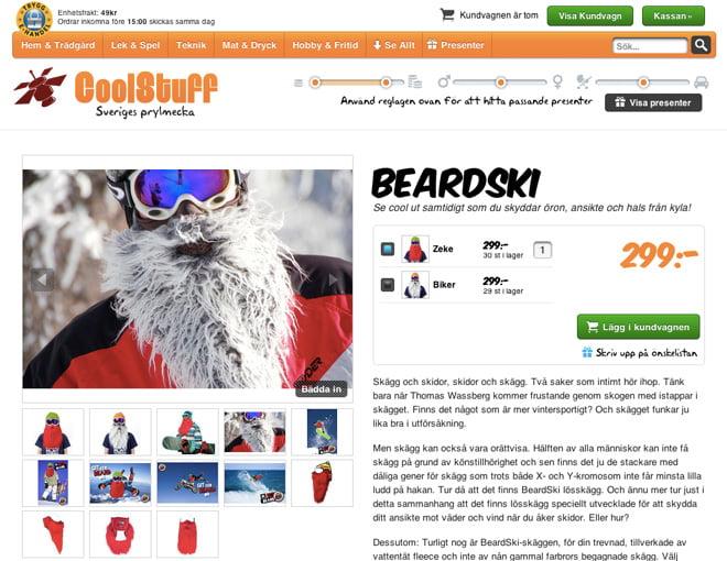 Beardski hos Coolstuff