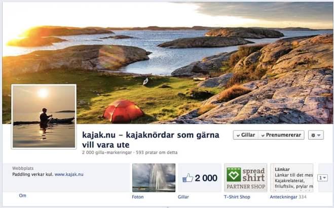 Facebook, 2 oktober 2012