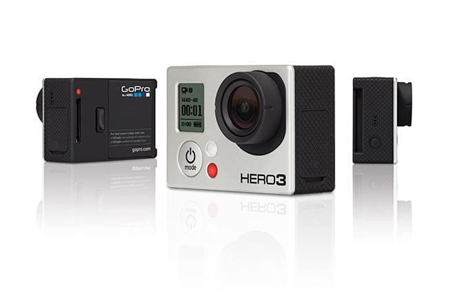 GoPro Hero3 utan hus