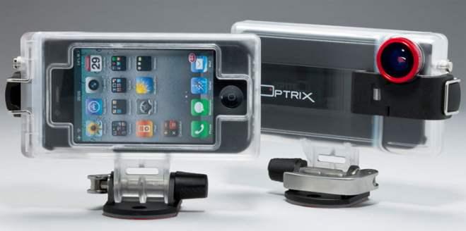 Optrix - actionkamerafodral till iPhone
