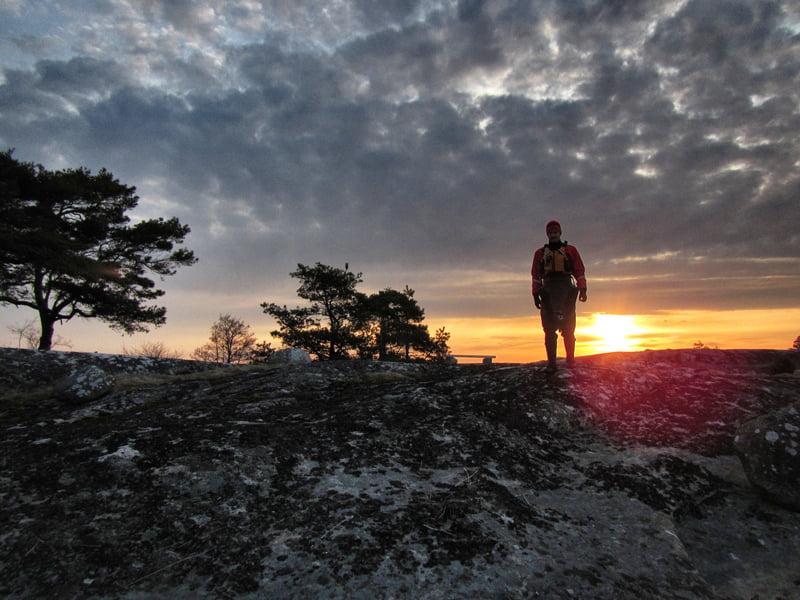 Tidig morgon på Långaskär