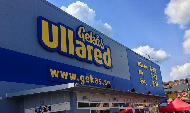 Gekås i Ullared - bra exempel på aktiva utgifter ;)