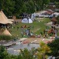Festivalplats på Järnavik Camping