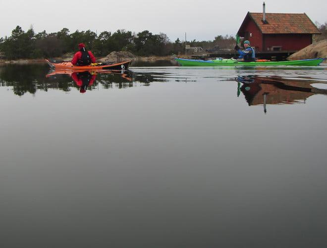 Lagom platt vid Strupö