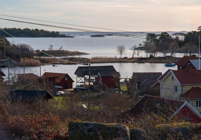 Toppvy på Strupö. Där kunde man ju haft en liten toppstuga :)