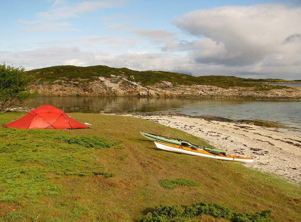 Hilleberg Saivo på Hjærterø