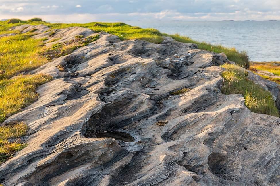 Granna klippor på Kvitvær