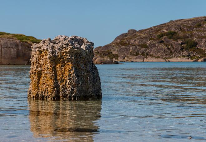 Rauk i korallmodell. Man behöver inte åka till Gotland! :)