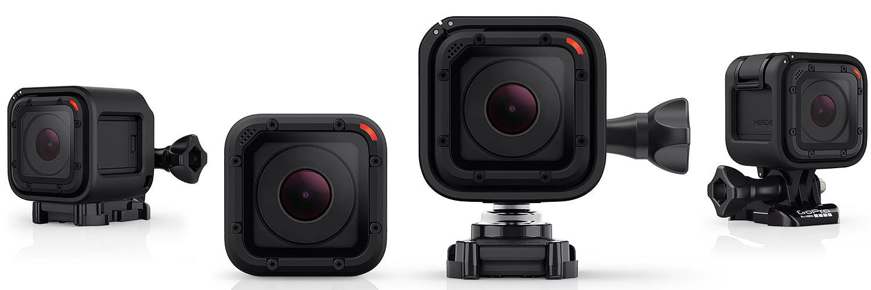 GoPro Hero Session 4, kubformad vattentät kamera