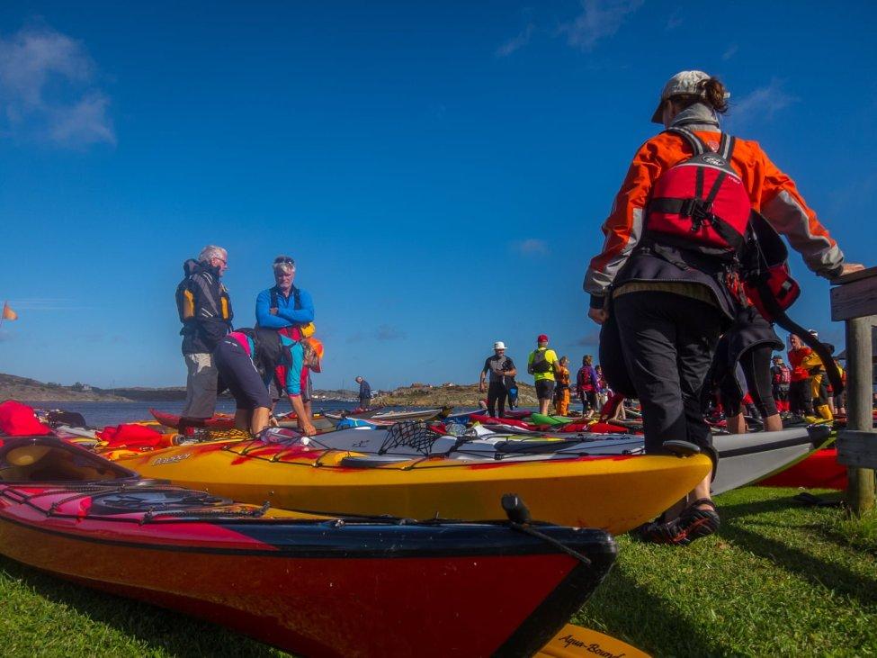 Snart paddling